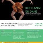 Flyer dansschool Lichtervelde