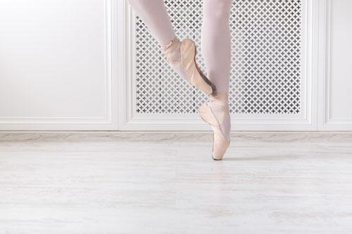pointes ballet volgen